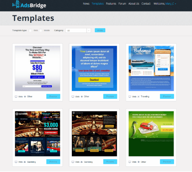 AdsBridge templates_2